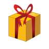 christmas, gift, box icon