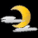 halloween, moon, half, scary icon