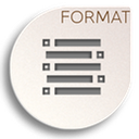 format list unordered icon