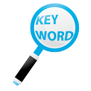 find, optimization, keyword, research, network, seo, explore, internet, keyword research, marketing icon