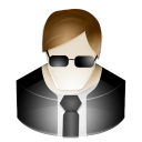 agent, secuty icon