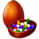 Candy, Chokolater, Easter icon