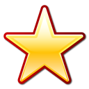 favorite, star, bookmark icon