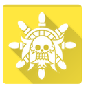 one piece, lion, golden, golden lion icon