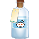 Bottle, Reddit icon