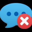 Comment delete icon