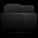 Black, Folder icon