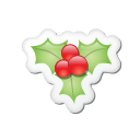 xmas, 10, sticker icon