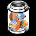 full, bin, recycle icon