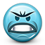 smiley, emot, mad, smiley face, angry, crazy icon