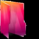Aurora, Folders, texto, Open icon