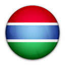 gambia, of, the, flag icon