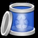blank, recycle, empty, bin icon