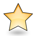 bookmark, emblem, star, favourite, new icon