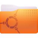 remote, folder icon