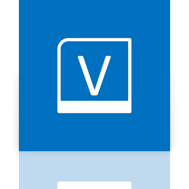 alt, mirror, visio icon