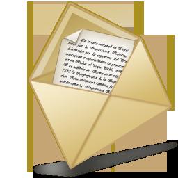 Open Letter Icon Line Icon Sets Icon Ninja