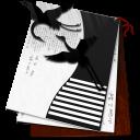 open, office, writer icon