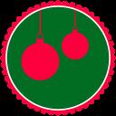 Christmas Hanging Balls icon