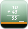 education, learn, calculator, calc, mathematics, school, teaching, math, calculation, teach, board icon