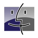 finder, blue icon