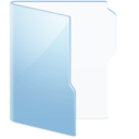 folder,blue icon