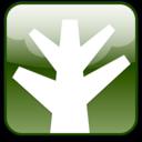 chunky,tree,plant icon