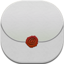 Email, Flat, Round icon