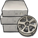 server, movie icon