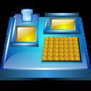 machine, electronic, billing icon