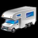 vehicle, car, motorhome icon