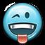 Emot Tongue Wink icon