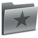 star, favourite, bookmark, folder icon