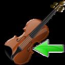 Back, Violin icon