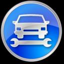 carrepair,blue icon