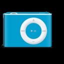 bleu, shuffle, vipod icon