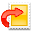 Export, Mail icon