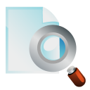 find, file, seek, paper, search, document icon