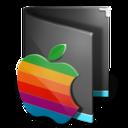 folder,classic,black icon