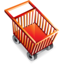 shoppingcart,empty,webshop icon