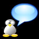 tux, chat, penguin icon