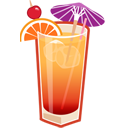 tequila sunrise icon
