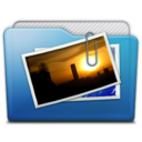 folder pictures alt icon
