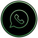 text, chat, phone, message, mobile, whatsapp, app icon