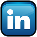 linked,linkedin,in icon