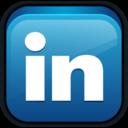 linked,linkedin,in icon