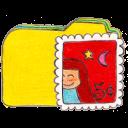 Folder, Mail, Osd, y icon