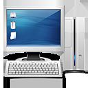 pc, computer, mycomputer, monitor, screen, personal computer, display icon