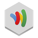 wallet, google icon