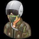 Light, Male, Pilotmilitary icon